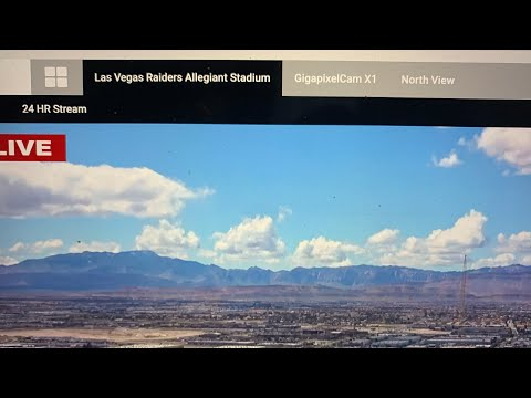 Las Vegas Allegiant Stadium Interior Construction Cam Removed Day After Worker Has COVID-19