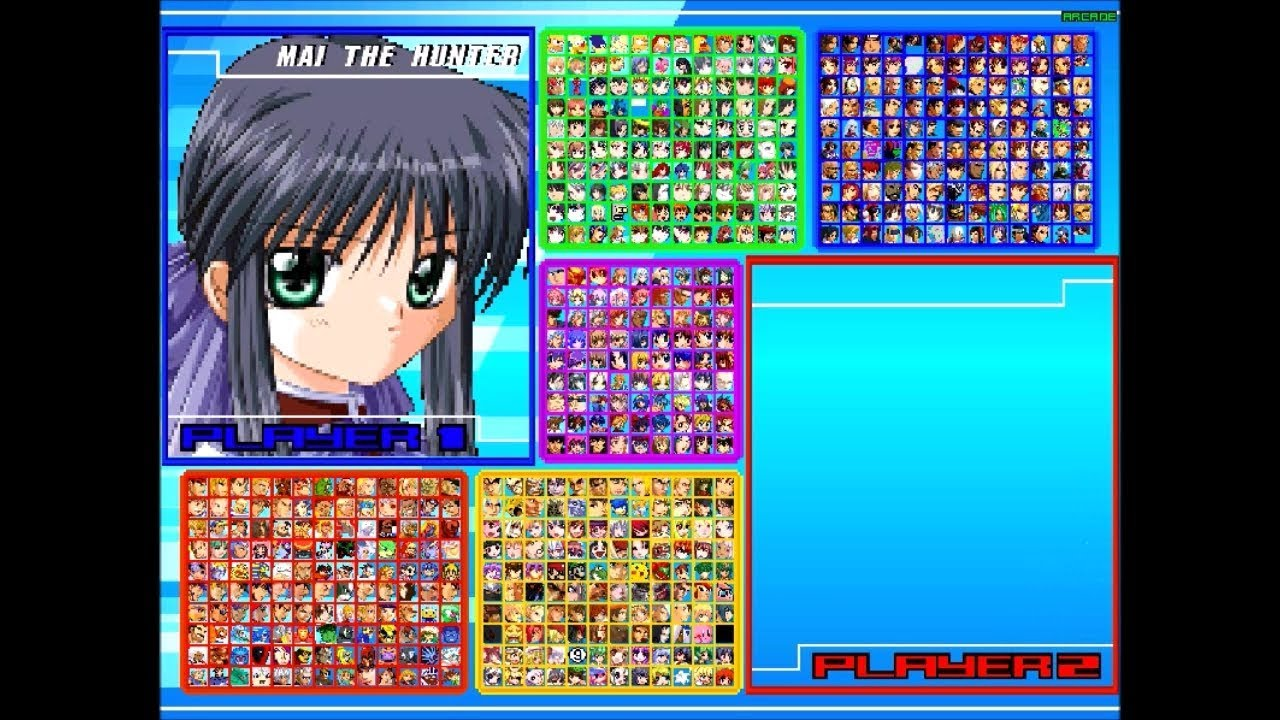 My MUGEN Roster Completed by MattDeRac