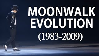 Michael Jackson - Moonwalk Evolution (1983 - 2009) HD