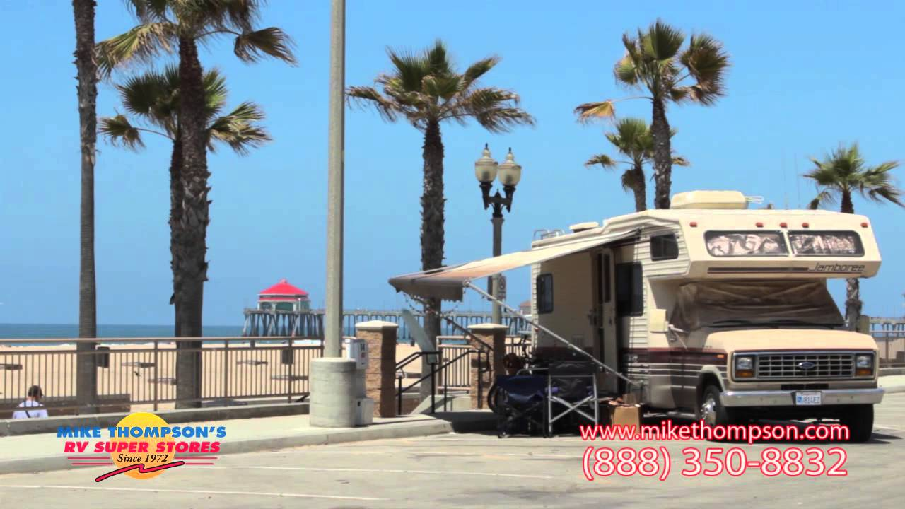 California beach rv parks with hookups