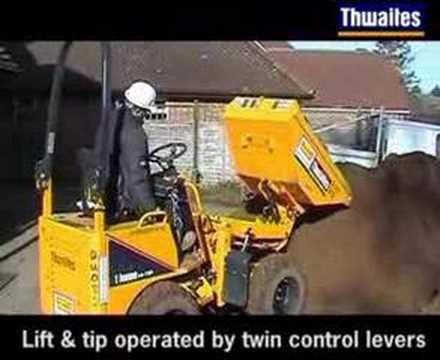 Thwaites 1 Tonne Hi-tip Dumper