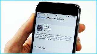 iOS 8.1 est disponible ! Toutes les nouveautés
