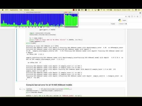 H2OAI Multi GPU H2O GBM - YouTube