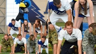 Prince Harry joins US Airforce