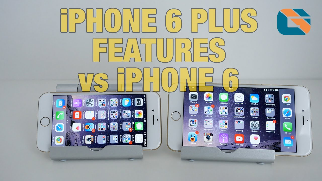 new iphone 6 features apple iphone 6 plus new ui features vs iphone 6 2953