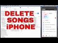 HOW TO DELETE MUSIC FROM ITUNES, IPHONE, IPAD, IPOD (2019)