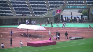 H26.4.12熊本県選手権男子4×100m予選1組