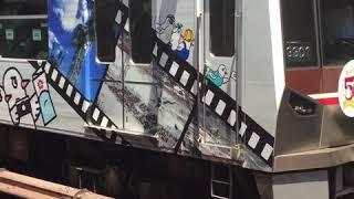 大阪メトロ 御堂筋線 北大阪急行 9000型 なかもず行き 西中島南方発車