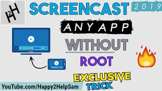 Screencast any app WITHOUT Root [How To] Screen mirroring without Root [Exclusive]