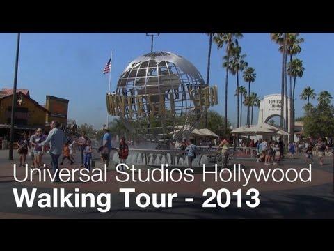 Walking Tour of Universal Studios Hollywood - 2013