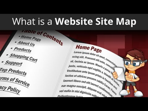 What Is: Website Site Map