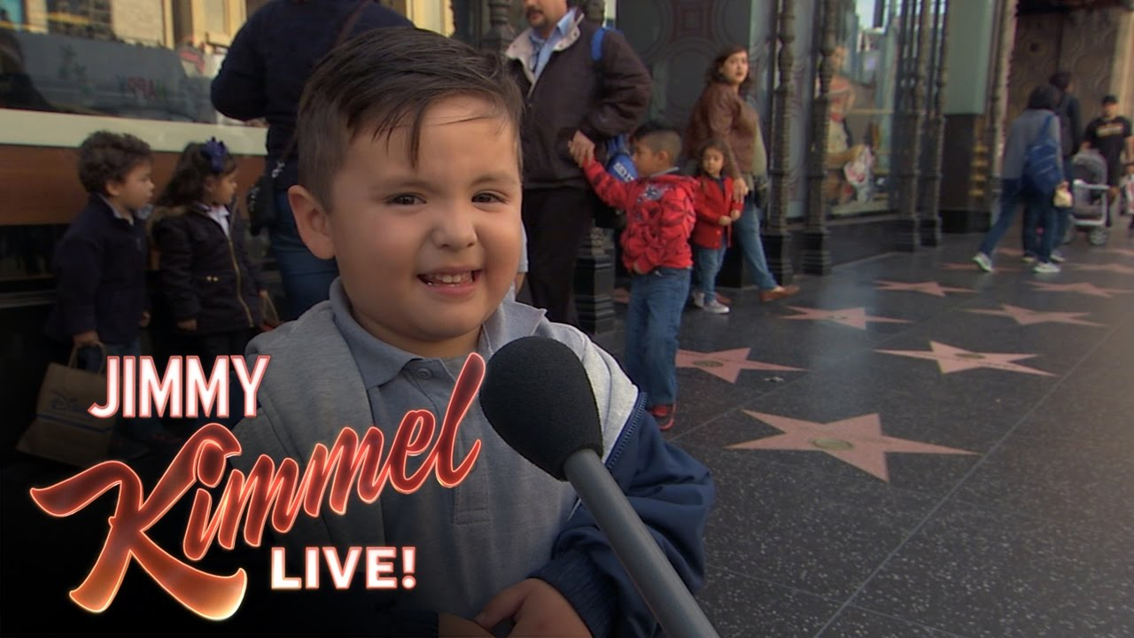 Jimmy Kimmel Christmas.Kids Tell The Story Of Christmas