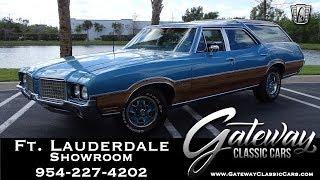 1972 Oldsmobile Vista Cruiser Wagon Gateway Classic Cars of Ft.  Lauderdale #897
