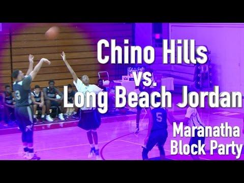 Chino Hills vs. Long Beach Jordan at the Maranatha Block Party