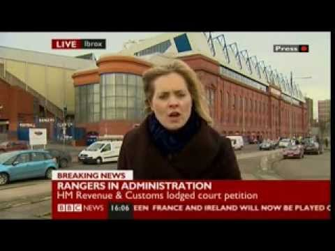 RANGERS GO INTO ADMINISTRATION  14/2/2012  ( WE WERE THE PEOPLE )