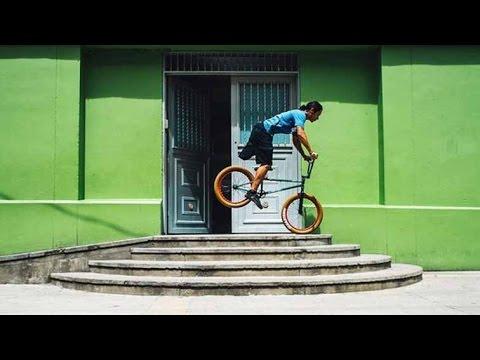 The Inspirational Story of a One-Legged BMXer | Julián Molina