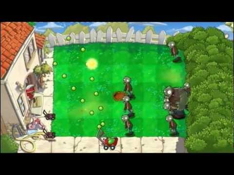 Plants VS Zombies - PS3 - A Bunch of Mini-Games - Part 1