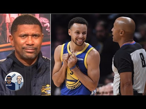 Jalen Rose calls foul on Steph Curry & James Hardens stepback 3s | Jalen & Jacoby