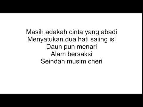 lagu cinta di musim cherry lirik versi indonesia   YouTube