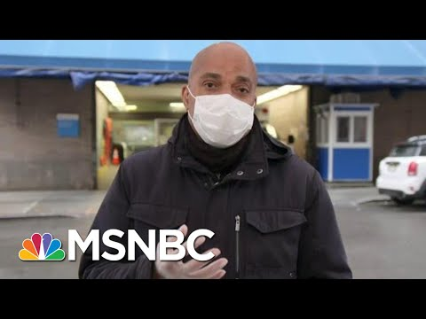 'Suicide Mission:' Medical Professionals Describe Going To Work In New York City | MTP Daily | MSNBC