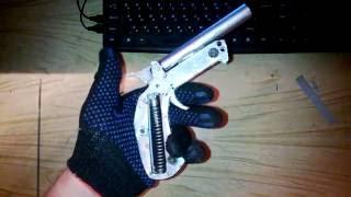как сделать пистолет с патронами