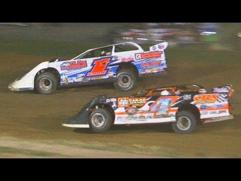 ULMS Super Late Model Feature | Genesee Speedway | 8-10-19