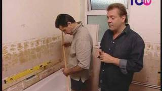 How To Tile A Bathroom Wall - Tools and Preparation