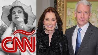 Emotivo homenaje de Anderson Cooper a su madre Gloria Vanderbilt