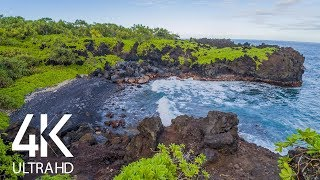 The Calming Song of the Pacific Ocean - 8 HOURS Nature Soundscapes Video - Part #2