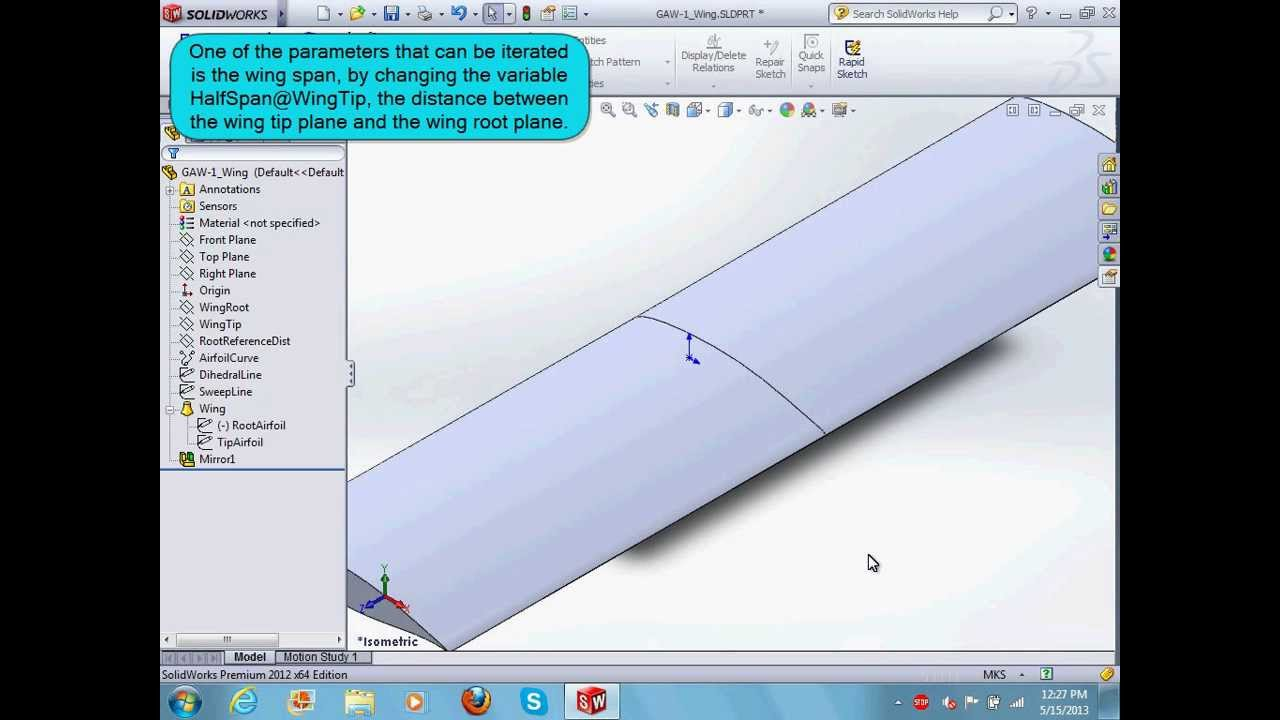 CADNexus Rapid Iterative OpenFOAM CFD Wing Study Tutorial Part 1 of 6