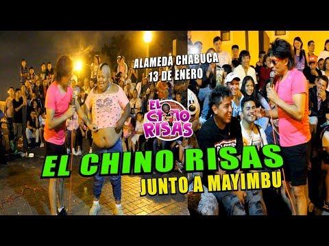 El Chino Risas y El Regreso De Mayimbu  Alameda Chabuca 13 De Enero 2019
