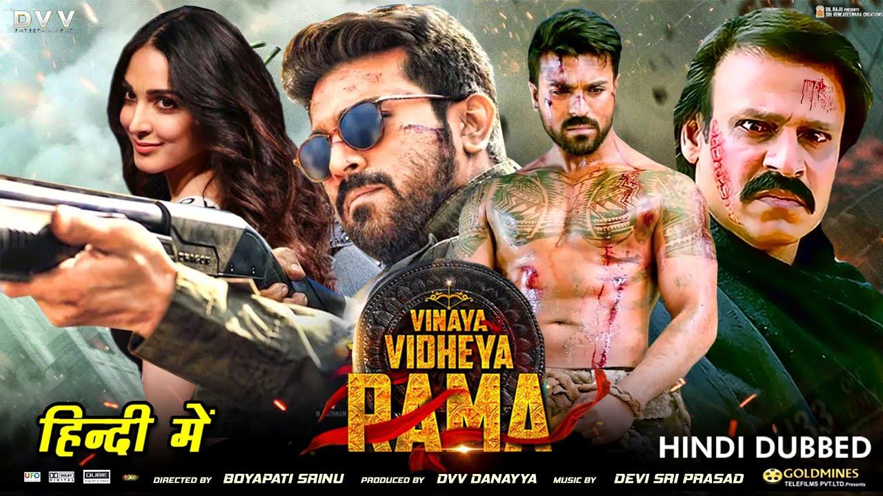 Download Vinaya Vidheya Rama [ Hindi Dubbed ] Updates   Ram Charan   Kiara Advani   Vivek Oberoi