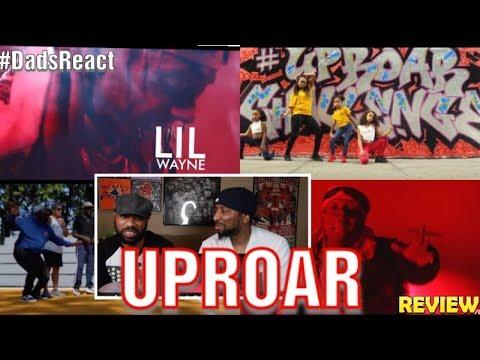 DADS REACT  UPROAR  MUSIC  x LIL WAYNE  E E MUMBLE RAP !!