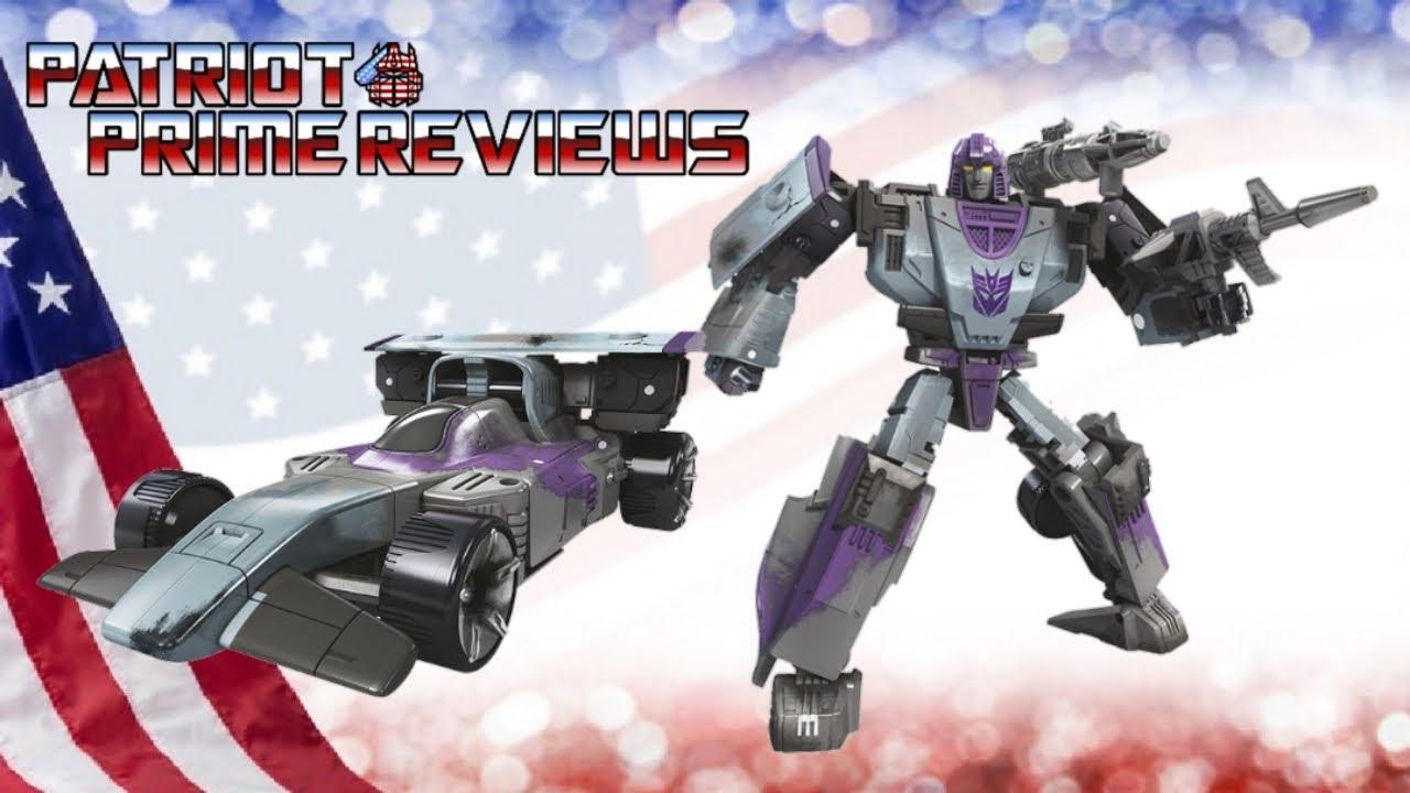 Patriot Prime Reviews Netflix Decepticon Mirage