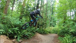 First ride at Galbraith mountain in Bellingham and it was a MTB kids dream