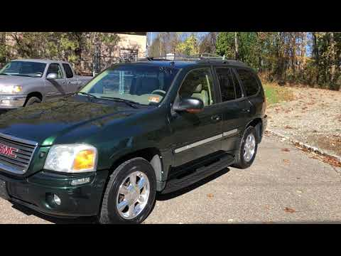 2004 GMC Envoy SLT 4WD Green For Sale