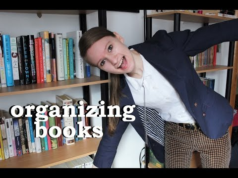 How I Organize and Catalog My Books