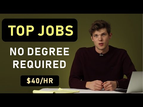 6 High Paying Jobs With No College Degree Required
