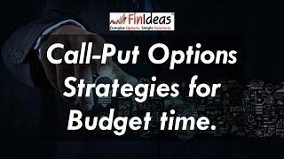 Call Put Options Derivatives Market Strategies for Budget 2017