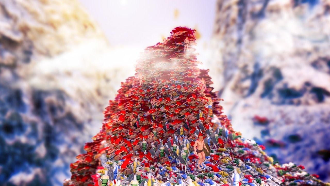 Pile Of Bodies : Huge pile of bodies ultimate epic battle simulator game