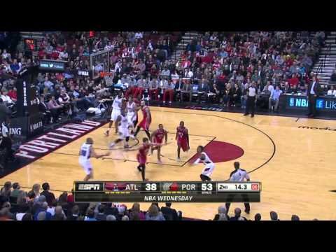 Atlanta Hawks vs Portland Trail Blazers | March 5, 2014 | NBA 2013-14 Season