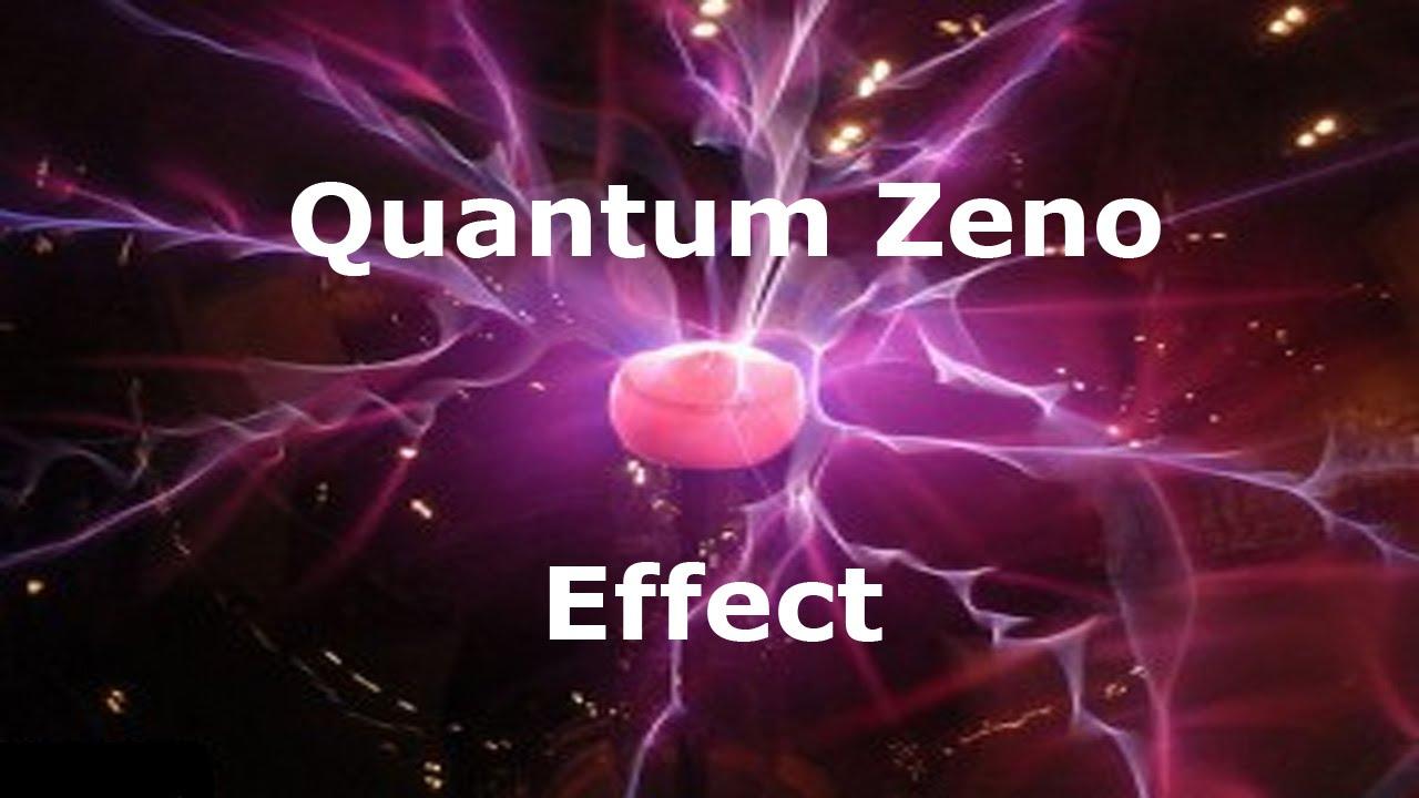 Zeno's Paradox & The Quantum Zeno Effect
