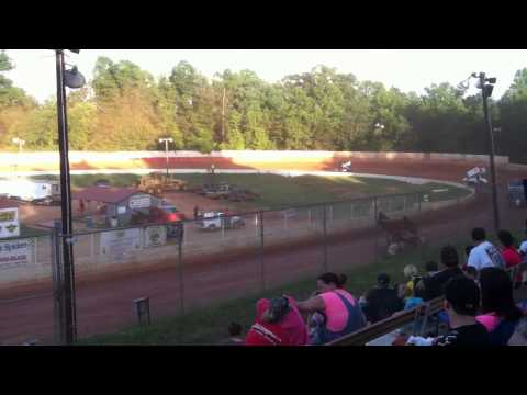 6/1/13 East Lincoln Speedway Heat Races
