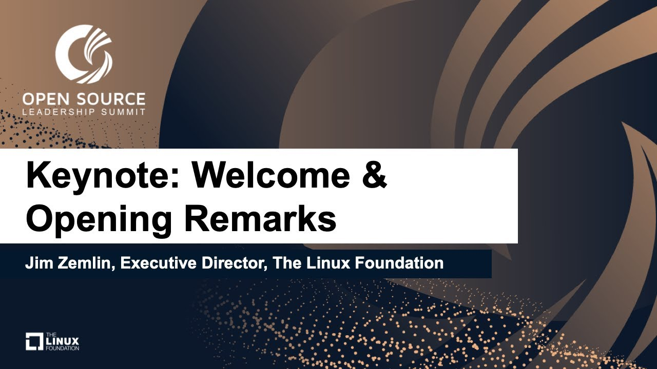 Open Source Leadership Summit 2019 - Linux Foundation Events