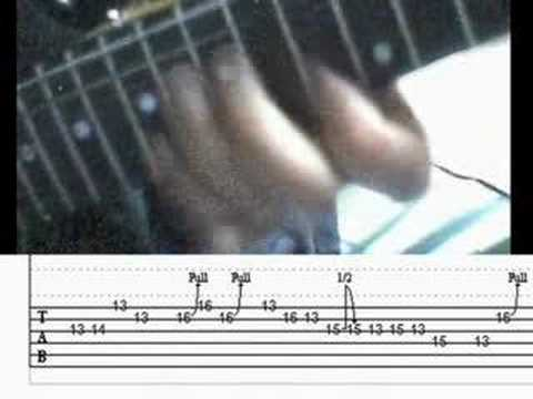 Guitar lick Slash