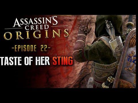 Assassin's Creed: Origins Walkthrough Part 22 Taste of Her Sting