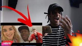 W2S - KSI Exposed (Official Music Video) Diss Track REACTION