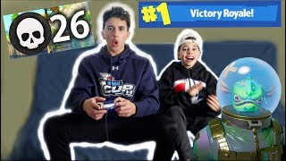 1 KILL = 1000 VBUCKS w/ My Brother 💥Fortnite💥 | Christian Lalama