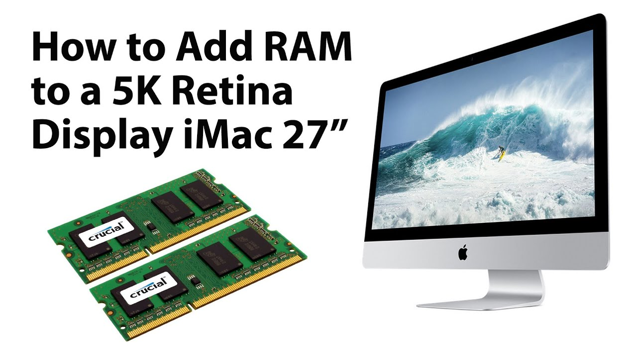 How To Install Ram On Apple Imac 5k Retina Youtube