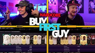 "FIFA 21: Hardcore BUY FIRST GUY Rashford ""R9 in gut"" vs Steini"